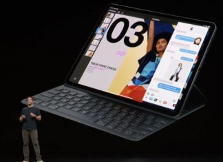Teclado iPad Pro: Evento de presentación del iPad Pro todo pantalla, del Mac mini y del MacBook Air Retina