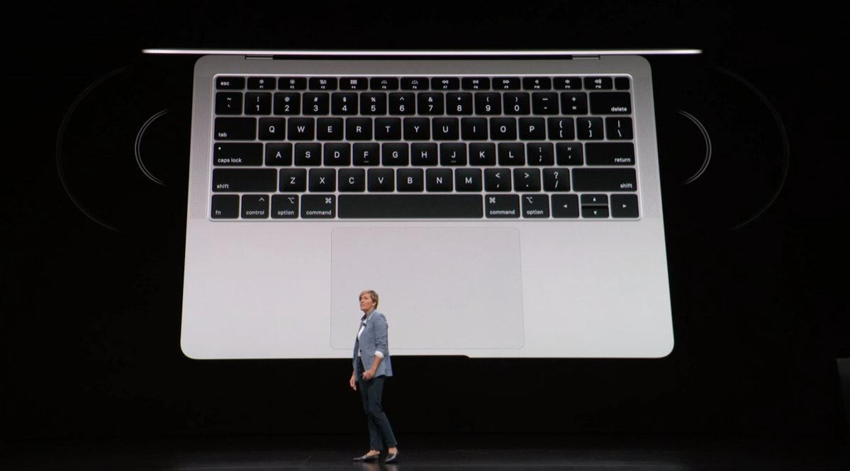 Evento de presentación del iPad Pro todo pantalla, del Mac mini y del MacBook Air Retina