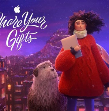 Anuncio de TV de Apple para el 2018: Share your gifts