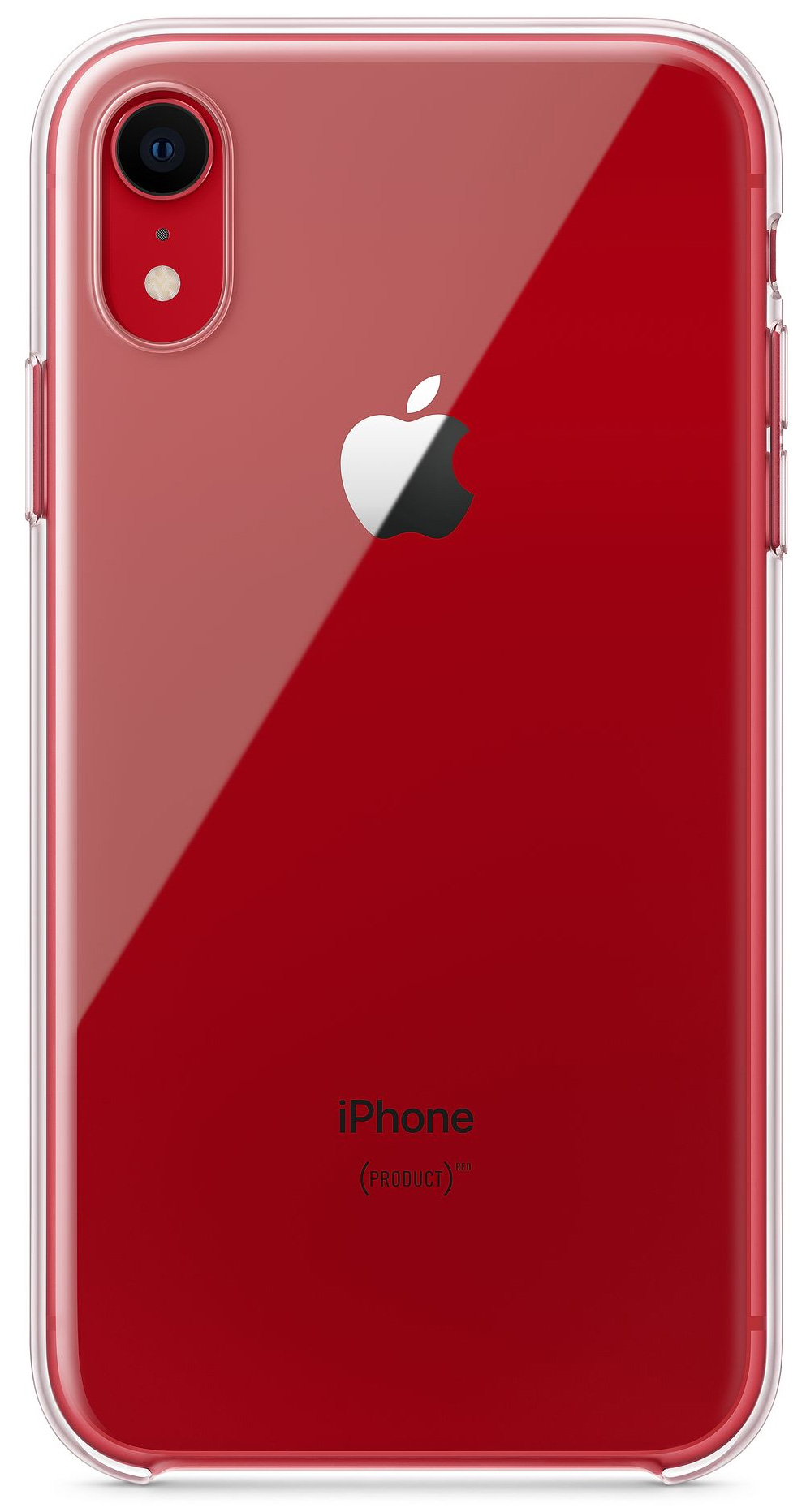 Funda transparente de Apple para iPhone XR
