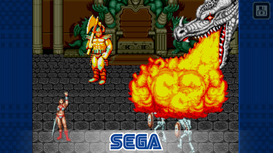 Golden Axe de Megadrive