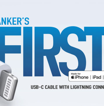 Cable USB-C a Lightning de Anker