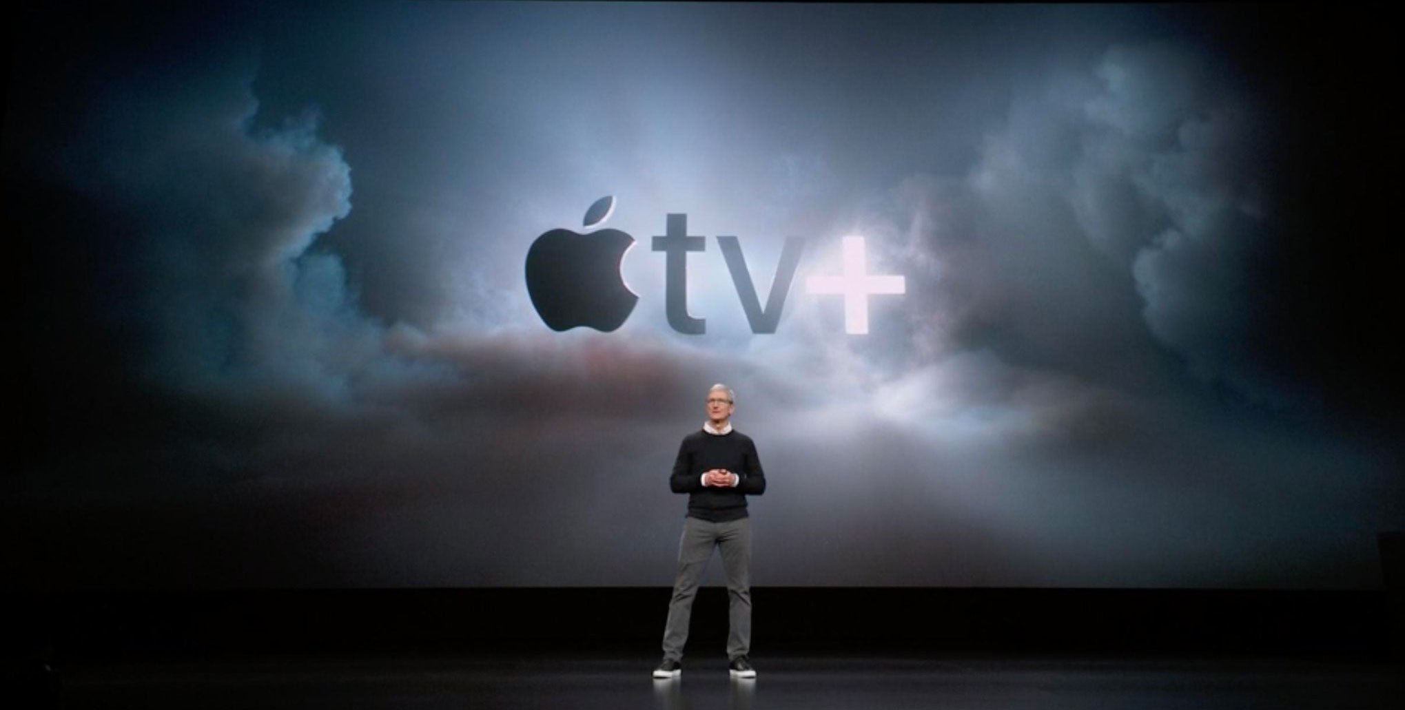 Tim Cook presenta Apple TV+