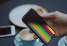 Fondo de pantalla para iPhone Fade Stripes