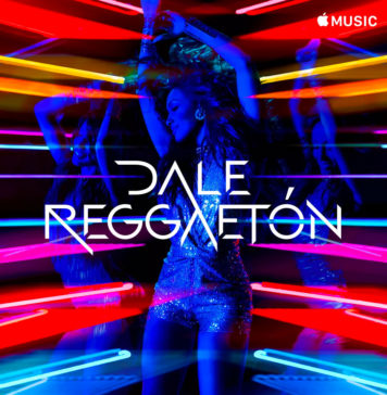Portada de la lista de canciones de reguetón en Apple Music