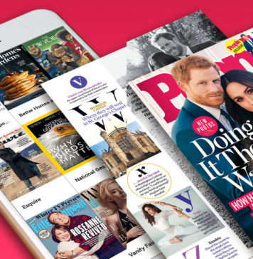 Revistas digitales en el iPhone, iPad o Mac