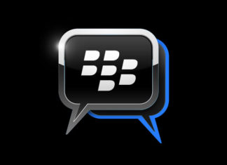Logo de Blackberry Messenger