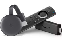 Chromecast y Amazon Fire TV