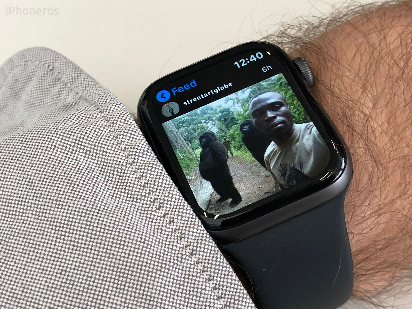 Cómo usar Instagram en el Apple Watch