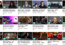 Nuevo canal de trailers y Apple TV+ en YouTube