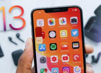 iPhone XS con iOS 13 instalado