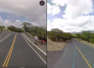 Comparación entre Look Around de Apple y Google Street View de Google