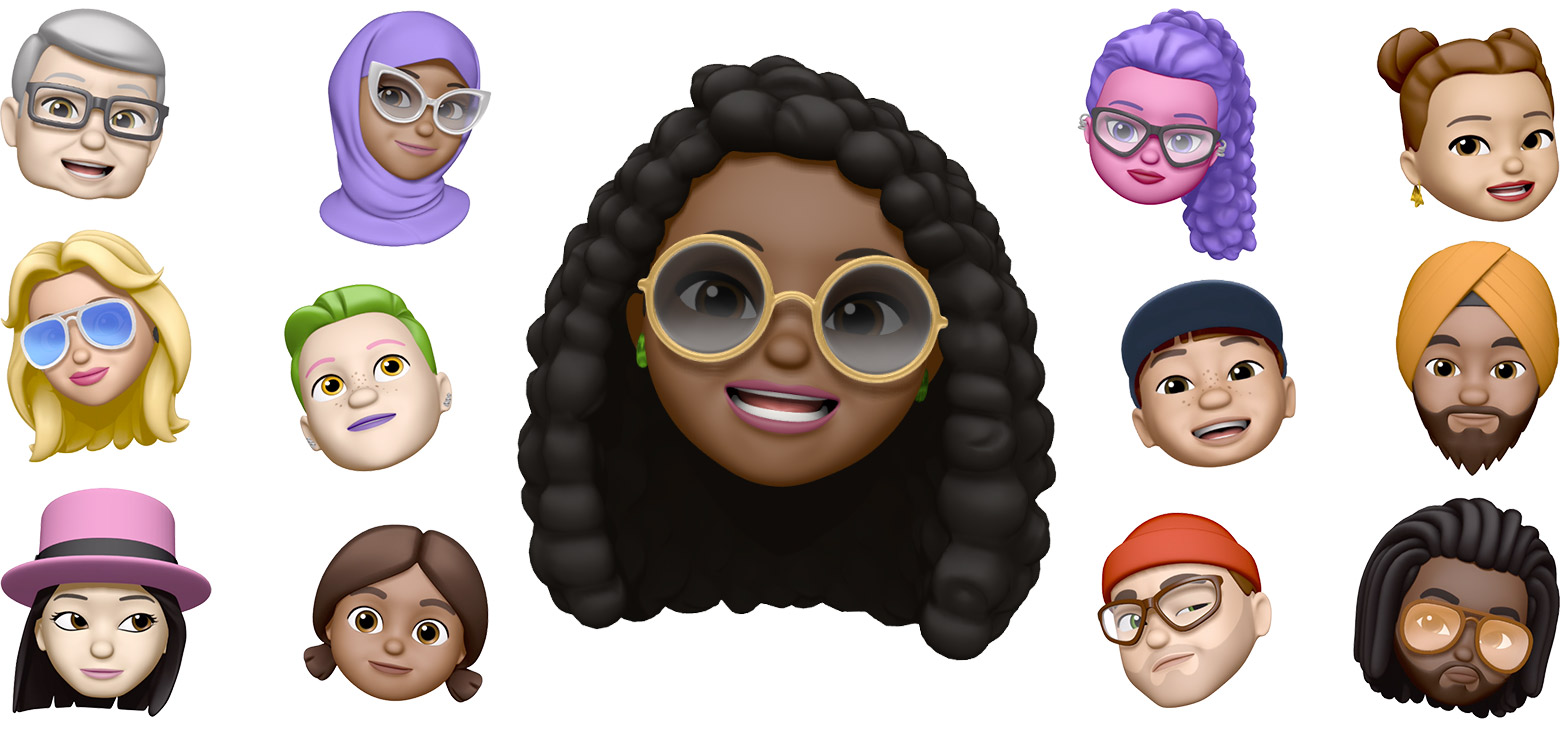 Memojis de Apple