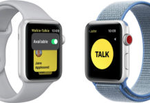 App de Walkie Talkie en el Apple Watch