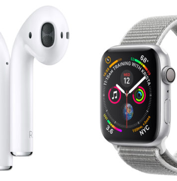 Apple Watch series 4 y AirPods
