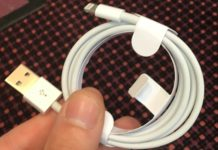 Cable Lightning - USB modificado con una radio Wi-Fi