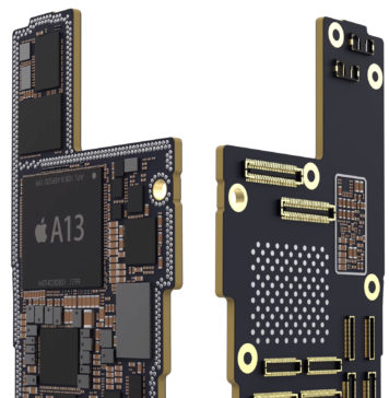 Supuesta placa base del iPhone 11