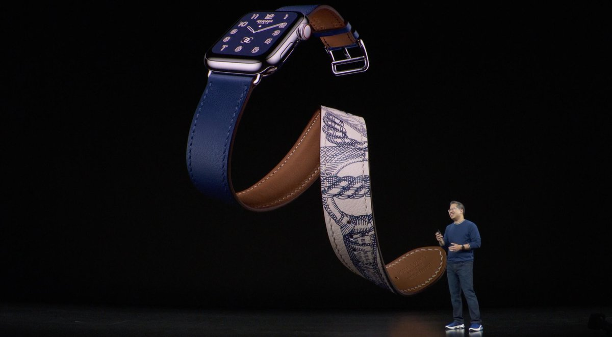Apple Watch series 5 (Keynote) Hermes