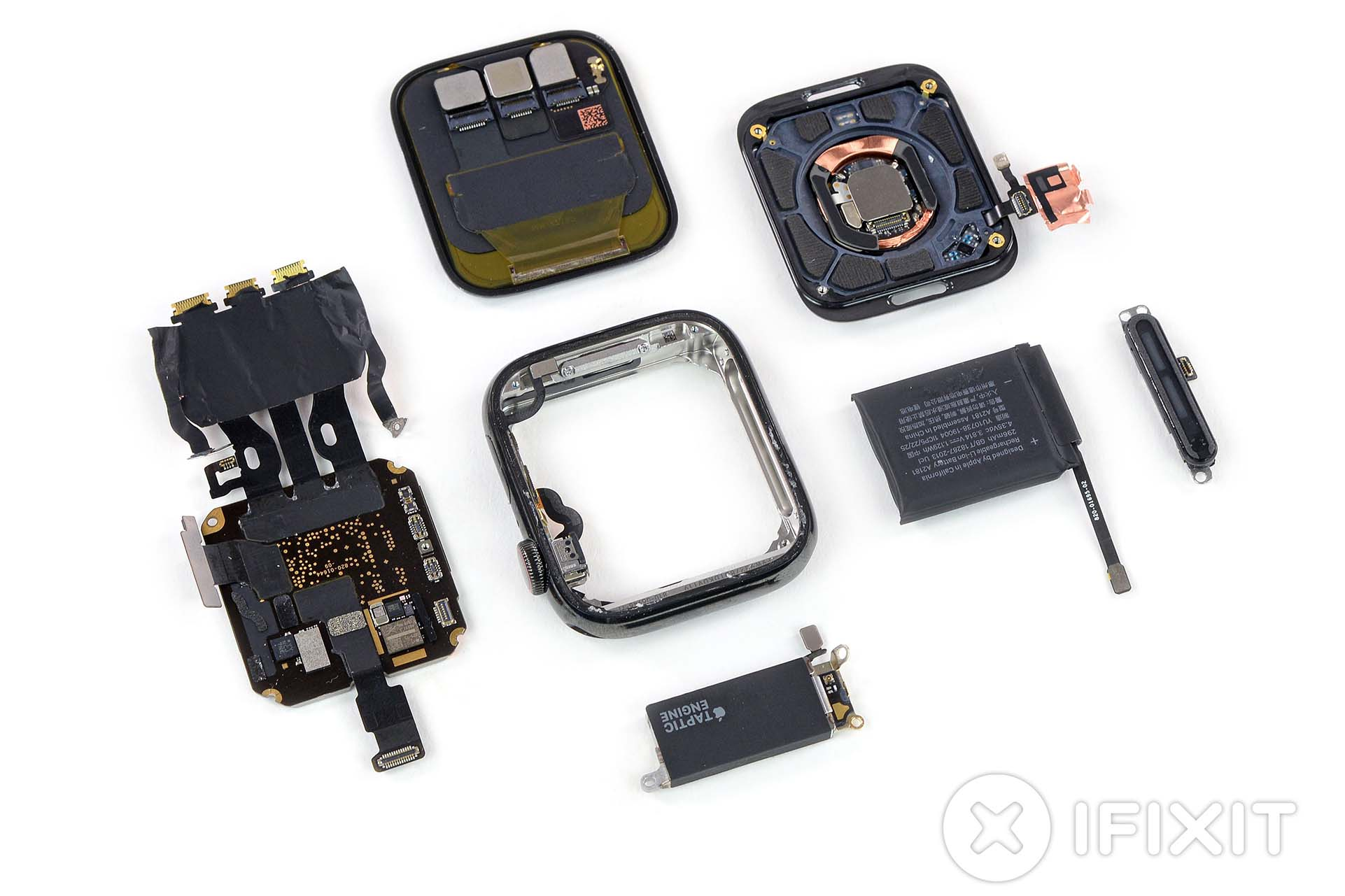 Todos los componentes del Apple Watch series 5