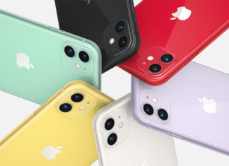 Colores del iPhone 11