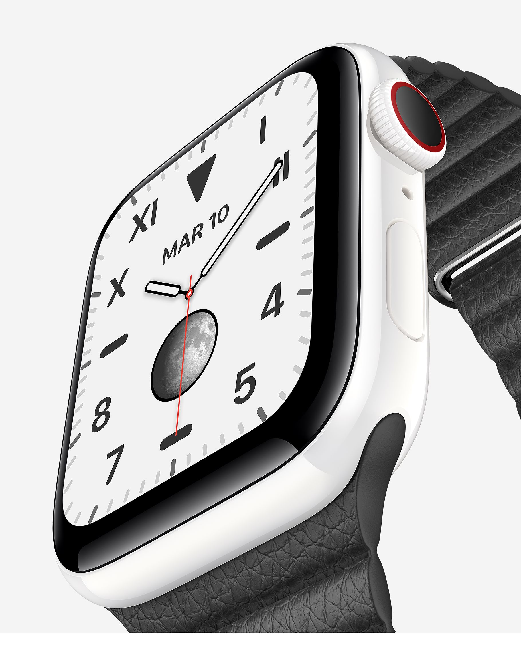 Apple Watch series 5 Edition, de cerámica