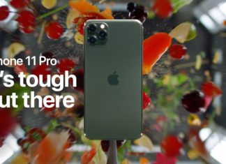 Prueba de resistencia a un iPhone 11 Pro en un vídeo de Apple