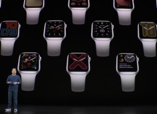 Apple Watch series 5 (Keynote)
