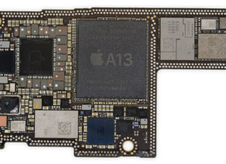 Placa base del iPhone 11 Pro