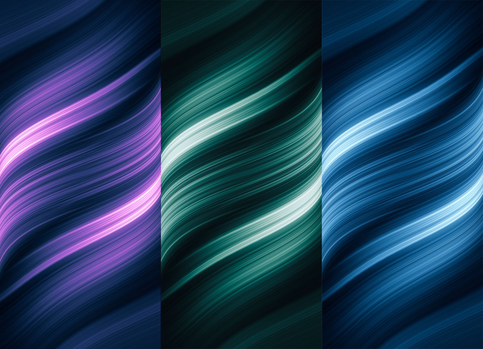 Wrapped Lights de @AR72014 en Azul, Verde y Morado