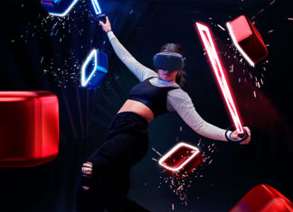 Beat Saber y Oculus Quest