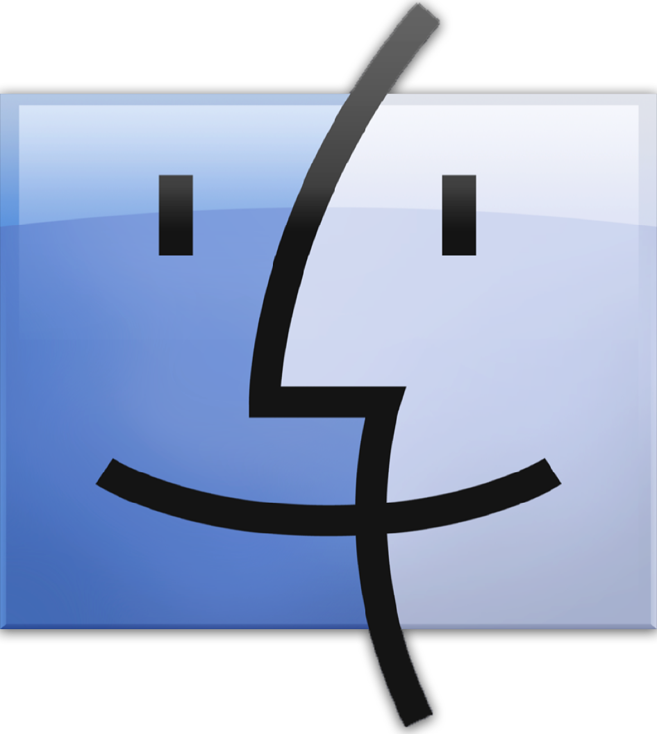 Icono de Finder de macOS