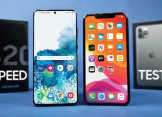 Galaxy S20 Ultra y iPhone 11 Pro