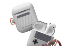 Funda para AirPods con estilo de GameBoy