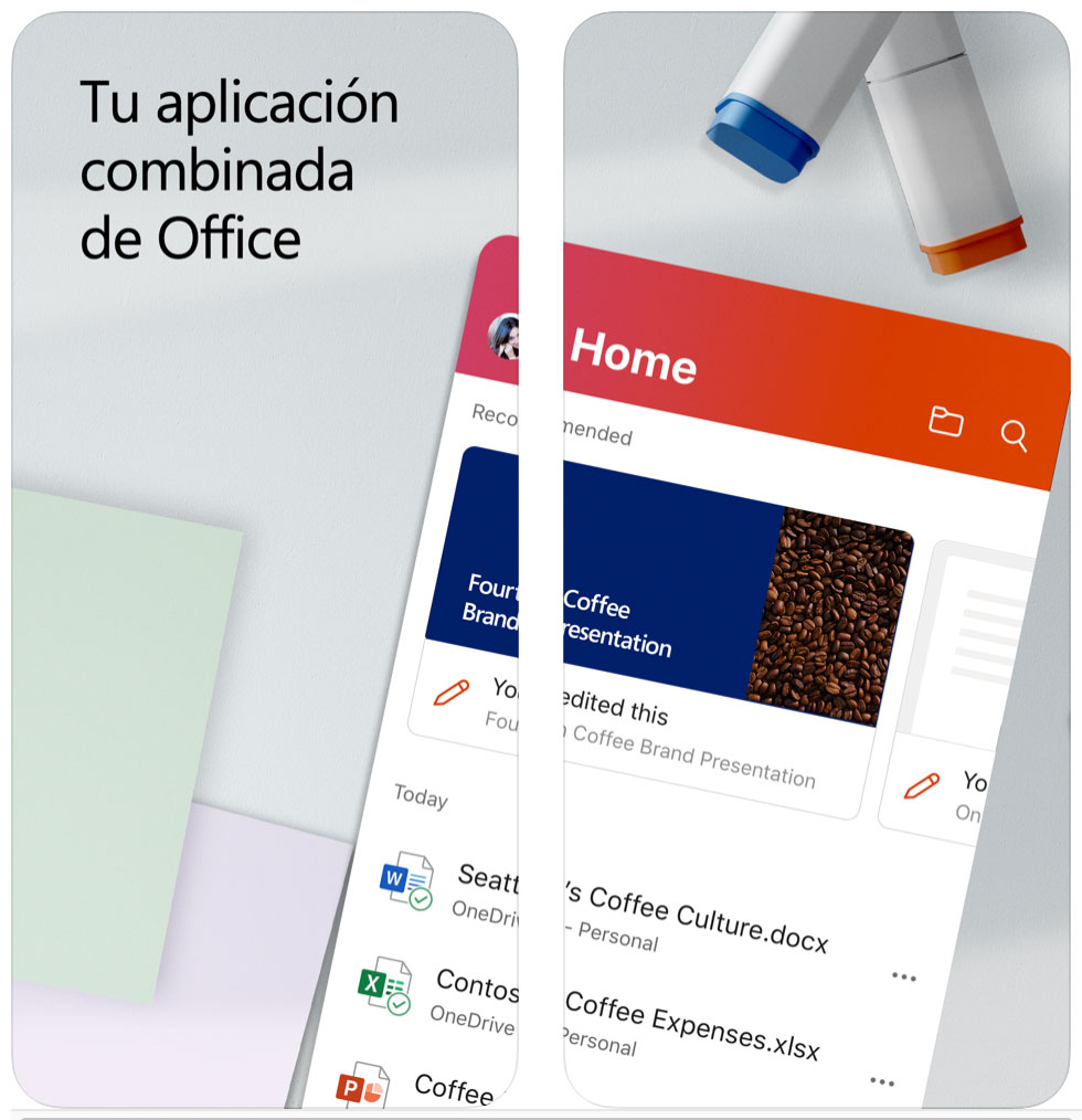 App de Office unificada
