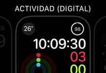 Configuración de complicaciones en el Apple Watch