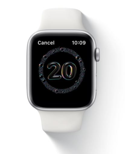 Control de lavado de manos del Apple Watch