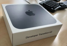Mac mini con A12Z, el Developer Transition Kit