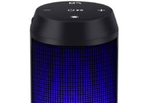 Altavoz Bluetooth con LEDs