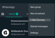Interfaz para utilizar WhatsApp en 4 dispositivos