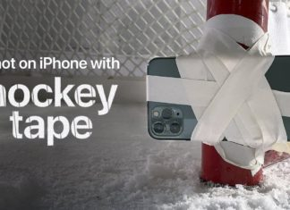 Anuncio de TV de hockey grabado con un iPhone 11