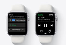 App de Spotify en el Apple Watch