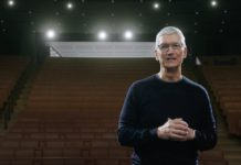 Tim Cook durante la presentación del iPhone 12 en octubre de 2020