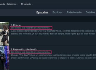 Episodio no disponible en Amazon Prime Video debido a limitaciones territoriales