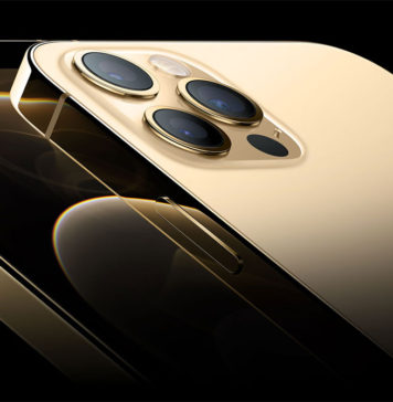 iPhone 12 Pro en color dorado