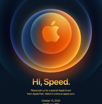 Hi Speed, invitación para la presentación del iPhone 12