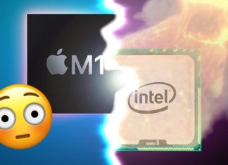 M1 e Intel Core i5 comparados