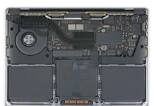 MacBook Pro con M1 por dentro