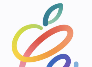 Logo del evento de Apple de la Keynote de abril 2021